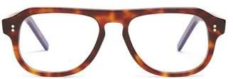 Cutler And Gross - Aviator Frame Glasses - Mens - Brown