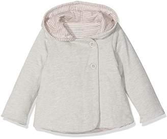 Mamas and Papas Baby Girls' Qultd Effect Jckt Jacket