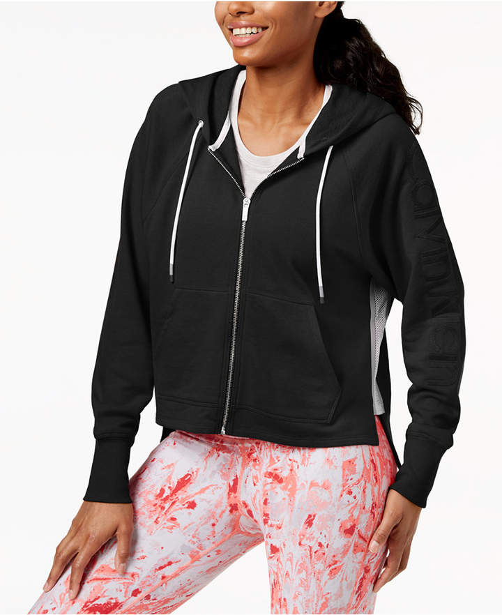 Relaxed Cropped Hoodie