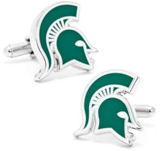 Cufflinks Inc. Cufflinks, Inc. 'Michigan State Spartans' Cuff Links