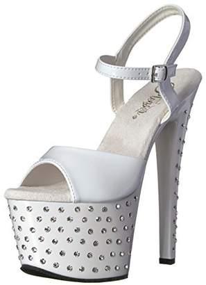 Pleaser USA Women's Stdus709/w/m Platform Sandal