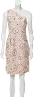 Chloé One-Shoulder Embellished Dress