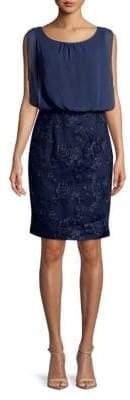 Calvin Klein Embroidered Sleeveless Dress