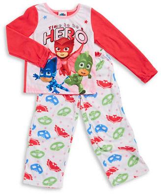 Ame Sleepwear PJ Masks Pajama Set $36 thestylecure.com