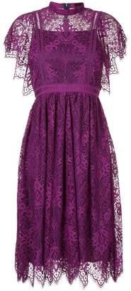 Aula lace flared dress