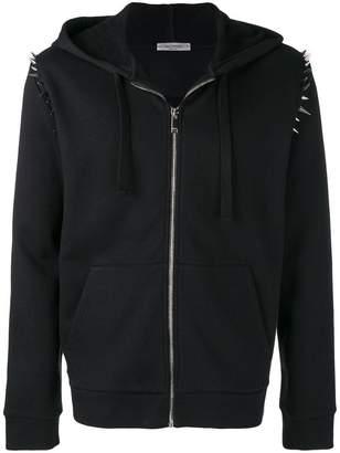 Valentino spike stud hoodie