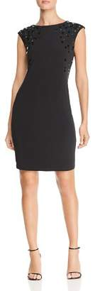 Calvin Klein Embellished Cap Sleeve Dress