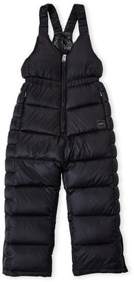 ADD Girls 4-6x) Quilted Down Snow Bib