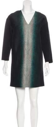 Cédric Charlier Wool-Blend Dress