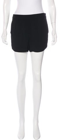Alexander Wang T by Alexander Wang High-Rise Mini Shorts