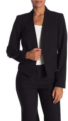 Nine West Long Sleeve Open Front Blazer