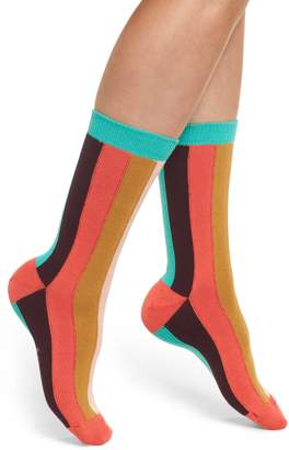 Paul Smith Hazel Vertical Stripe Socks