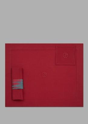 Giorgio Armani Cool Table Set With Placemat, Napkin, Coaster And Napkin Holder