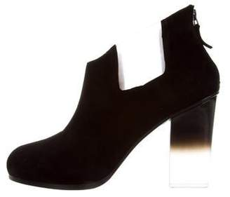 Ritch Erani NYFC Suede Round-Toe Booties