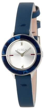 Furla Women's Club Swap Case Leather Strap Watch, 26mm