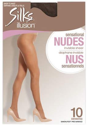 SILKS Illusion Sensational Nudes Invisible Sheer Pantyhose