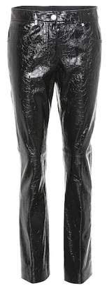Helmut Lang Patent leather trousers