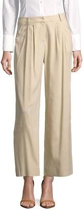 Lafayette 148 New York Women's Cropped Wide-Leg Pants