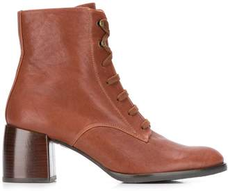 Chie Mihara lace up boots