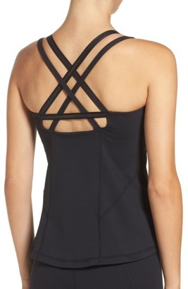 Women's Zella Bringing Strappy Back Tank $65 thestylecure.com