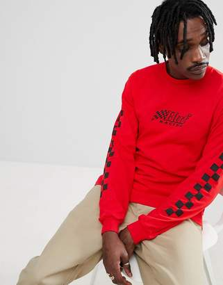 HUF racing long sleeve t-shirt in red