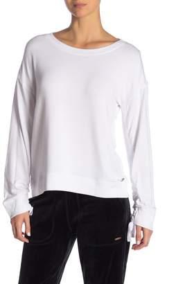Donna Karan Long Sleeve Pullover