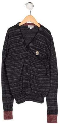 Paul Smith Boys' Knit Button-Up Cardigan