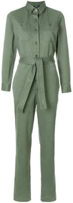 A.P.C. belted button jumpsuit