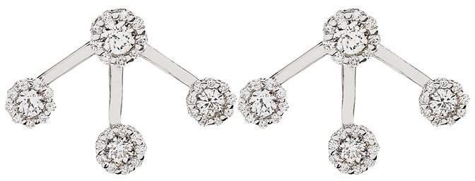 Yeprem Diamond Cluster Stud Earrings