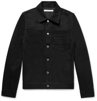 Givenchy Slim-Fit Embroidered Denim Jacket