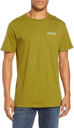 Patagonia River Liberation Organic Cotton Graphic T-Shirt