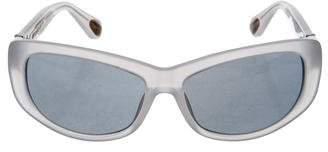 Ann Demeulemeester Narrow Tinted Sunglasses