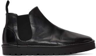 Marsèll Black Gomme Sancrispa Alta Chelsea Boots