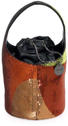 Tom Ford TOM FORD Miranda Medium Sequined Hobo Bag
