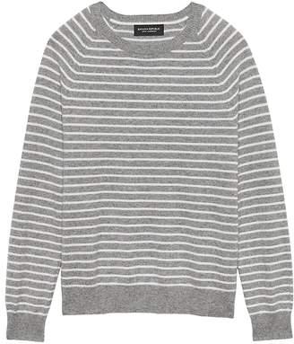Banana Republic Cashmere Stripe Sweater