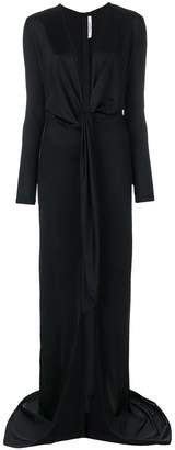 Givenchy floor length empire line dress