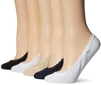 Keds Women's 5 Pack Lace Liner Socks