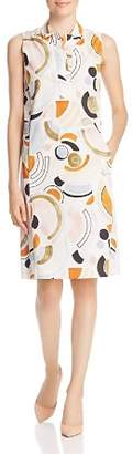 Lafayette 148 New York Rudy Printed Sleeveless Shift Dress