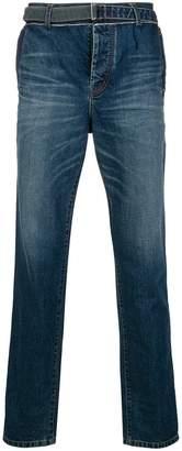 Sacai straight cut jeans
