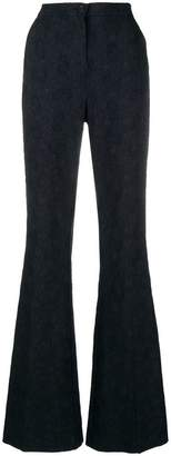Pinko bell bottom high waist trousers