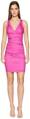 Nicole Miller Front Zip Dress Women's Dress