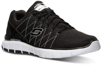Skechers Men's Relaxed Fit: Skech Flex Running Sneakers from Finish Line