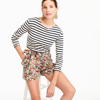 Tie-waist short in Liberty® Thorpe floral $75 thestylecure.com