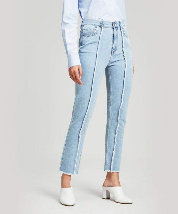 Rokh Straight Front Seam Jeans