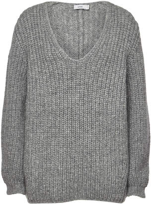 Closed Pullover with Alpaca and Wool