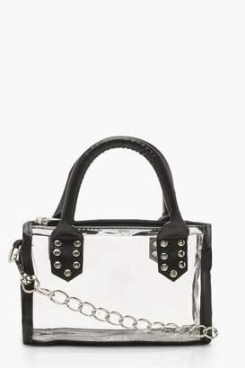 boohoo Mini Studded Grab Bag