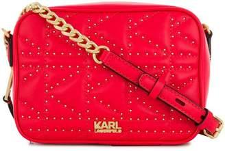 Karl Lagerfeld K/Kuilted camera bag