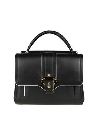 Paula Cademartori Petite Faye Bag In Black Leather