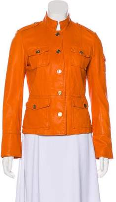Tory Burch Delman Leather Jacket