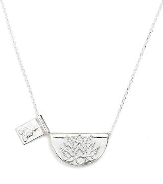 By Charlotte Lotus Buddha Necklace